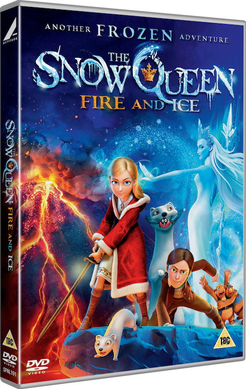 THE SNOW QUEEN: FIRE AND ICE DVD, worth £7.99