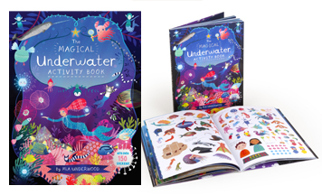 The Magical Underwater Activity Book, worth £9.99