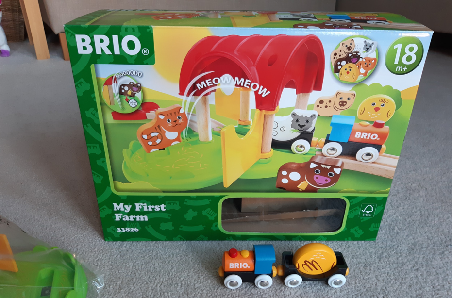 BRIO My First Farm, worth £49.99  image