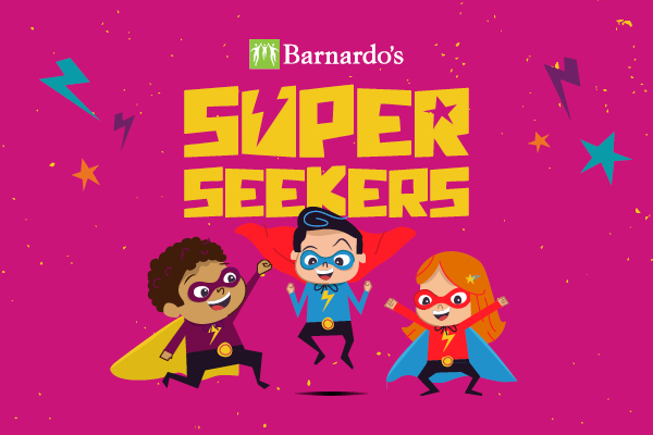 Barnardo's invites parents to unlock their child's inner superpowers with downloadable activity packs  image