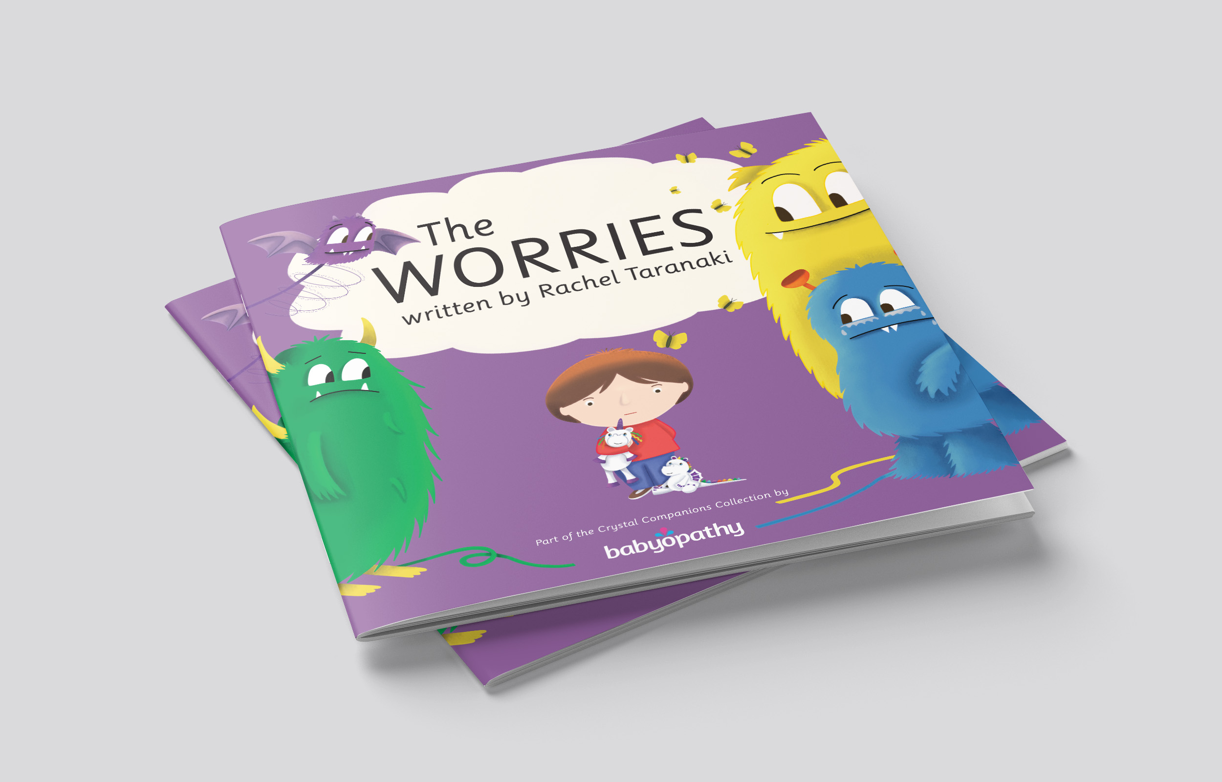 New book 'The Worries' encourages little ones to talk about anxieties  image