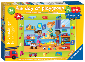 Ravensburger My First Floor Puzzle - Fun Day at Playgroup, worth £8.99