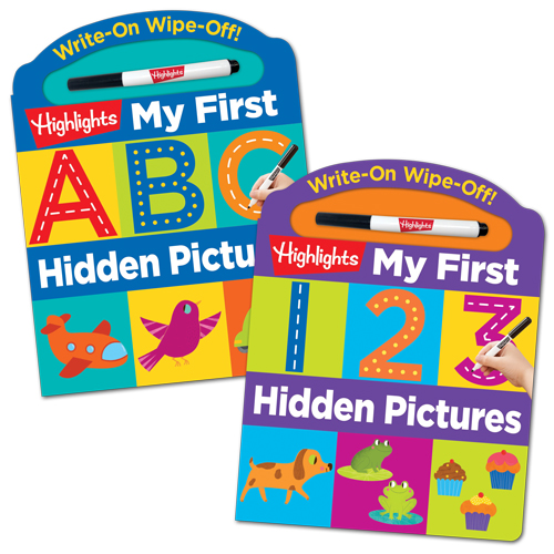 Write-On Wipe-Off: My First 123 Hidden Pictures and My First ABC Hidden Pictures Books, worth £19.98 (4 x sets to giveaway)