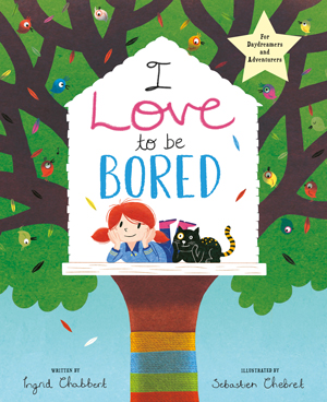 I Love to be Bored Book, worth £7.99