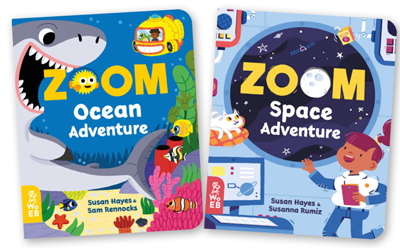 What on Earth Books: ZOOM Ocean Adventure and ZOOM Space Adventure, worth £10.99 each