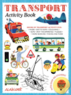 Transportation activity book by Alain Gree