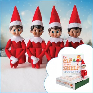 4 Elves on the Shelf!