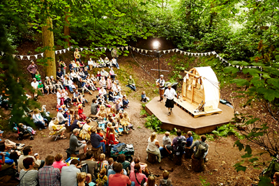 Across 3 stunning bespoke wooden stages and around a campfire will provide some of the most exciting new music live in an intimate woodland setting.